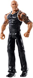 WWE Top Picks The Rock Action Figure, 6-in Posable Collectible & Gift for Ages 6 Years Old & Up