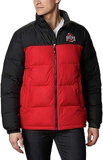 Champion NCAA Mens NCAA Mens Half Zip Packable Hooded Wind Jacket