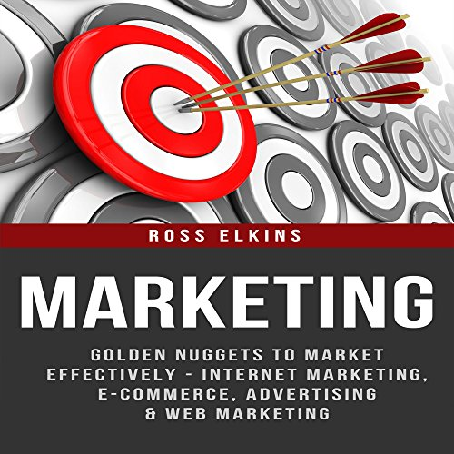 Marketing audiobook cover art