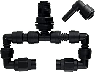 MistKing 22256 Double Misting Assembly Value L-Fitting+A1585