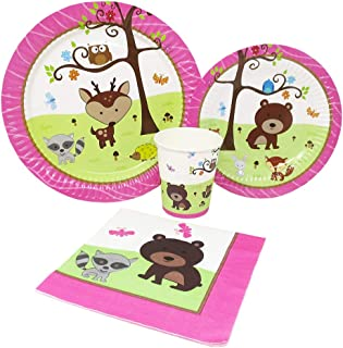 woodland girl birthday party
