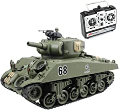 tank rc battle