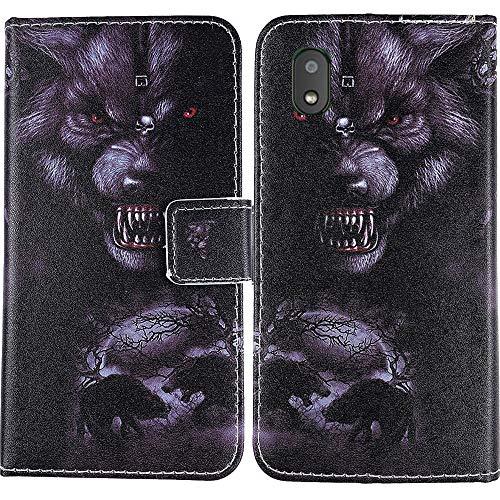 Lankashi PU Flip Book Stand Brieftasche Leder Tasche Hülle Hülle Cover Handytasche Schutzhülle Etui Skin Holder Für Gigaset GS110 6.1