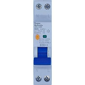 color: blanco Gewiss GW90028 Interruptor Magn/ético Autom/ático