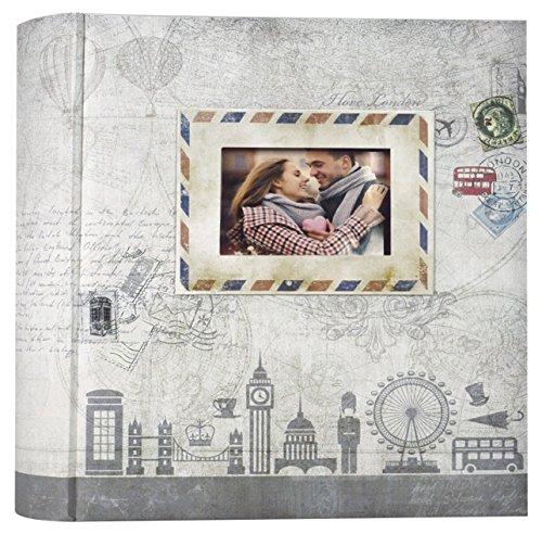 ZEP ul46200g Ulisse Fotoalbum met 200 hoezen grijs 11 x 16 cm