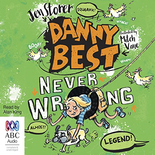 Never Wrong audiobook cover art