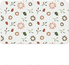 Bath Rug Bath Rug Quick-Drying Carpet Repellent Diatomaceous Earth Bath Mat Washable Soft mat (Color : E, Size : Large)