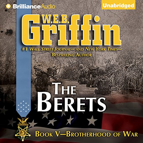 The Berets audiobook cover art