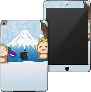 igsticker iPad mini 4 (2015) 5 (2019) 専用 全面スキンシール apple アップル アイパッド 第4世代 第5世代 A1538 A1550 A2124 A2126 A2133 シール フル ステッカー 保護シール 009535 富士山 動物 猿