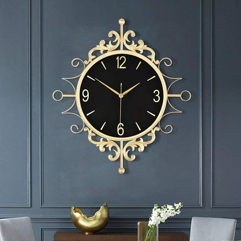LUCY Sale price STORE Wall Clock European-Style Interior Retro Luxury Decor OFFicial