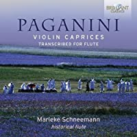 Paganini: Violin Caprices Transcribed for Flute by Marieke Schneemann
