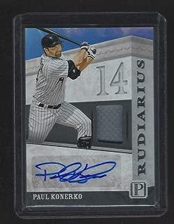 Paul Konerko Autographed Jersey - 2016 Pantheon 157 199 - Autographed MLB Jerseys