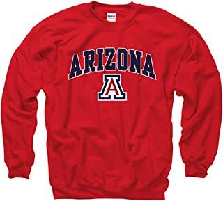 Campus Colors NCAA Adult Arch & Logo Gameday Crewneck Sweatshirt
