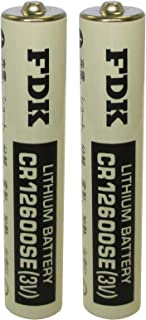 2pc FDK CR12600SE CR2NP 3V Laser Lithium Manganese Dioxide Battery FAST USA SHIP