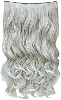 silver blonde human hair extensions