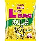 カルビー ポテトチップス LサイズBAG のりしお 135g × 12袋