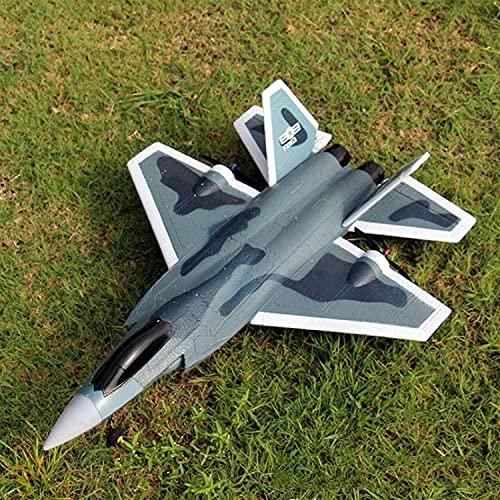 Double Side ArelLer Design Modello Modello Elettronico Aereo Aereo F22 Remote Control Fighter Ala fissa Aeromobile Aeromobile Elettrico Drone Interactive Giocattoli educativi per ragazze Bambino bambi