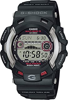 Casio GW9110-1 Men's Master of G Gulfman Multi Band Tough Solar Atomic G Shock Watch