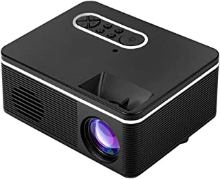 HD Portable Projector, 1000 Lumen LED Mini Home Media Player, Support 1920 * 1080P Video Player, Home Theater,Black