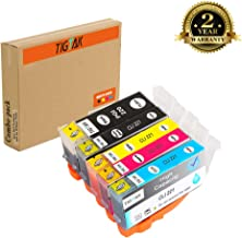 Tigtak 5 Pack Replacement for Canon PGI 220 CLI221 Compatible Ink Cartridge for Canon Pixma iP3600, iP4600, iP4700, MP560, MP620, MP620B, MP640, MP640R