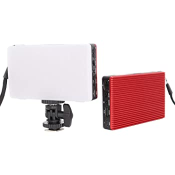 5600 K Temperatura LED Video Studio Light koolehaoda Ultra-Thin 204 LED Dual Color Ajustable 3200K