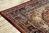 Teppich Wolle KESHAN Ornament orientalisch 7518/53528 beige/dunkelblau 250x350 cm beige - 6