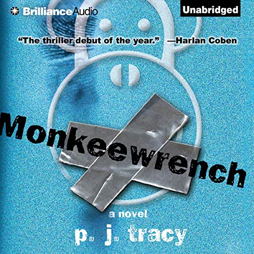 Monkeewrench audiobook cover art