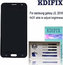 KDIFIX for Samsung Galaxy J3 2016 J320P J320YZ J320VPP j320ZN J320F J320A J320M J320FN J320R4 SM-J320W8 LCD Touch Screen Assembly with Full Professional Repair Tools kit (Black)