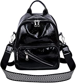 chinatera Fashion Shoulder Bag Rucksack, PU Leather Ladies Backpack Travel Bag for Girls
