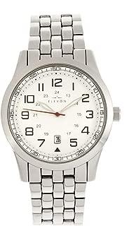 Garrison Men's Silver Bracelet Watch with Date ELE105-1