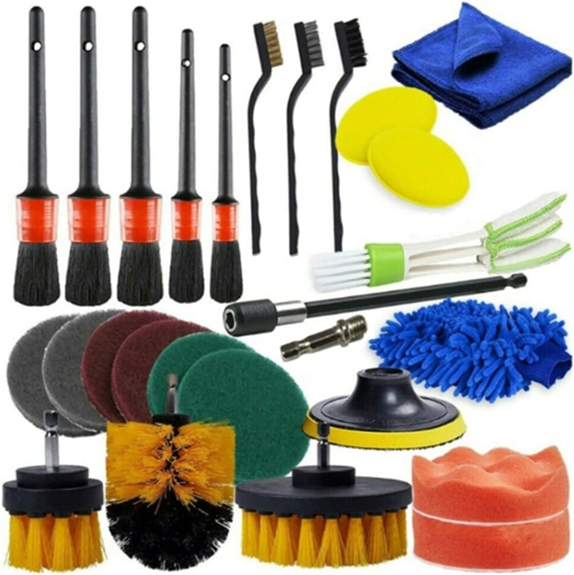 YXIUER Car Detailing Brush Set Power Scrubber Super It is very popular special price Tire A