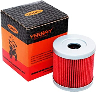 Yerbay Motorcycle Oil Filter for Suzuki LTR 450 Quadracer 450 2006-2009 / LTR450 Quadracer Limited Edition 450 2008