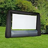 TCS Inflatable Widescreen Movie Screen – 7.6' Indoor Outdoor Backyard Camping Inflatable Movie Screen5 Stars