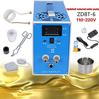 ZDBT-6 ZVS Low-Voltage High-Frequency Induction Heating Machine with Crucible Metal Melting Furnace Weld US