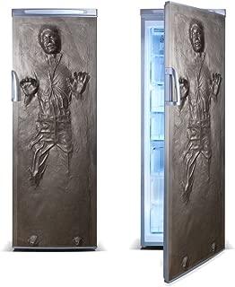 FridgeWrap: Han Solo in Carbonite Vinyl Sticker for Refrigerator