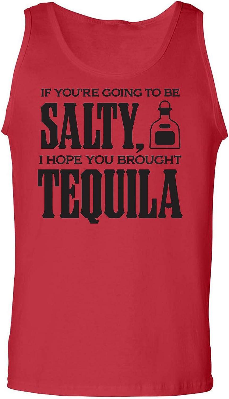 zerogravitee Salty Tequila Adult Tank Top