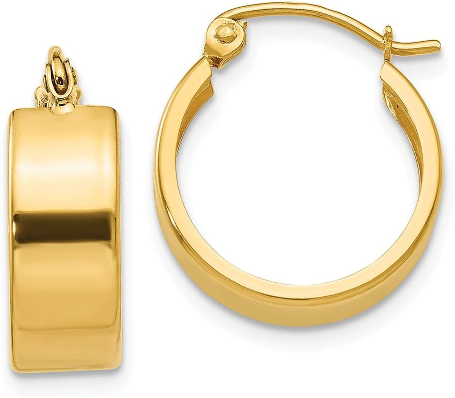 Beautiful Yellow gold 14K Yellowgold 14K Small Hoop Earrings
