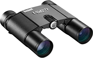 مناظير سقف صغير الحجم قابل للطي من Bushnell Legend Ultra HD ، 10 × 25 مم ، أسود