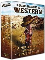3 grands classiques du western : Le vent de la plaine + Bandolero! + La piste des géants