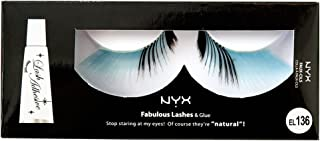 NYX Professional Makeup Fabulous Eye Lashes, Blue Birdie, 0.544 Ounce