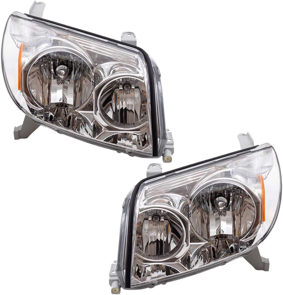 Brock Replacement Driver and Headlights Headlamps Passenger Comp 至高 ランキング総合1位