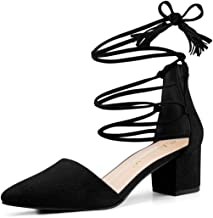 Best pointy lace up heels Reviews