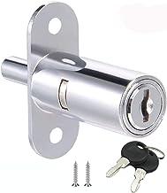 youtu Kastslot, schuifdeur, drukcilinder, verschillende blokkerende meubelcilinder, boutslot, schuifdeurslot, cilinder-Ø 1...