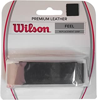 Wilson Black Premium Leather Tennis Replacement Grip