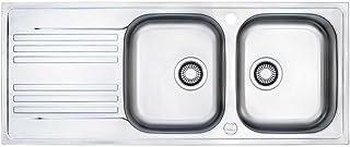 Franke Küchen-Spüle Euroform EFX 621 101.0043.209 - Edelstahl