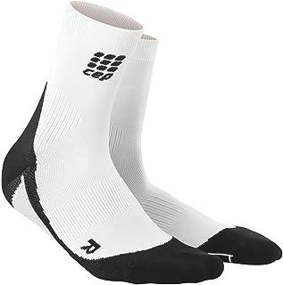 Women's Athletic Crew Cut Compression Socks- CEP Short Socks for Performance