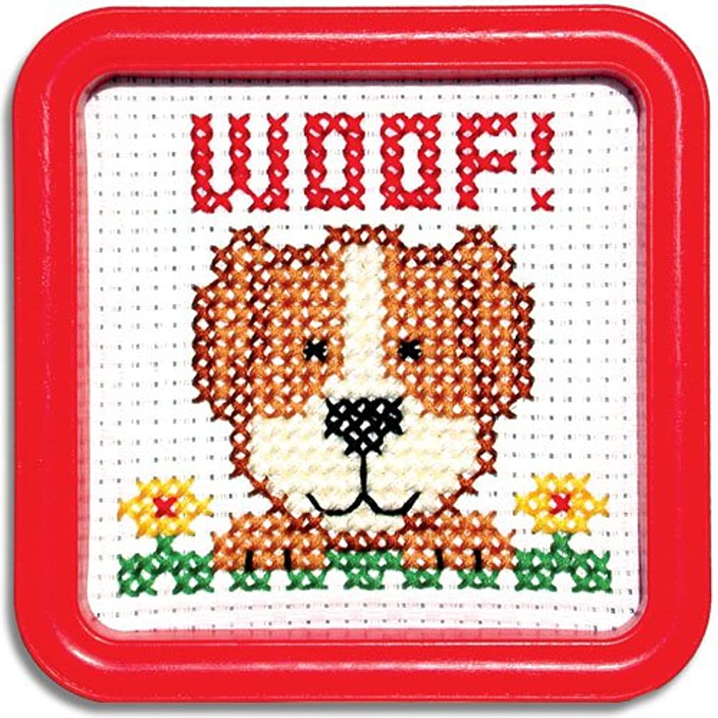 Easystreet Happy Watch Dog Counted Cross-Stitch Kit