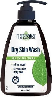 Natralia Dry Skin Wash, Gentle Soap-Free Hand & Body Wash, 8.45 Ounce Bottle