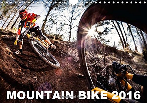 Mountain Bike 2016 by Stef. Cande / UK-Version 2016: Some of the best pure action mountain bike pictures ! (Calvendo Sports)