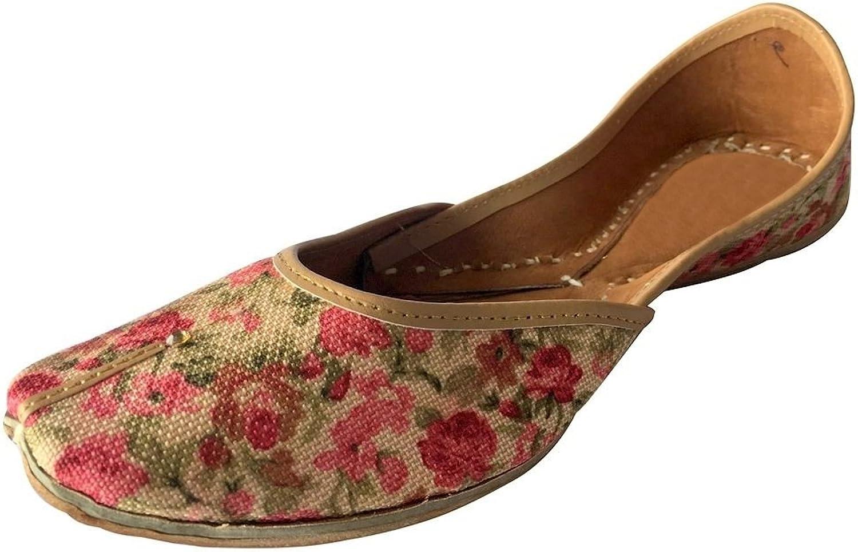 Step n Style Women shoes Handmade Flip-Flops Traditional Juti Salwar Kameez Khussa